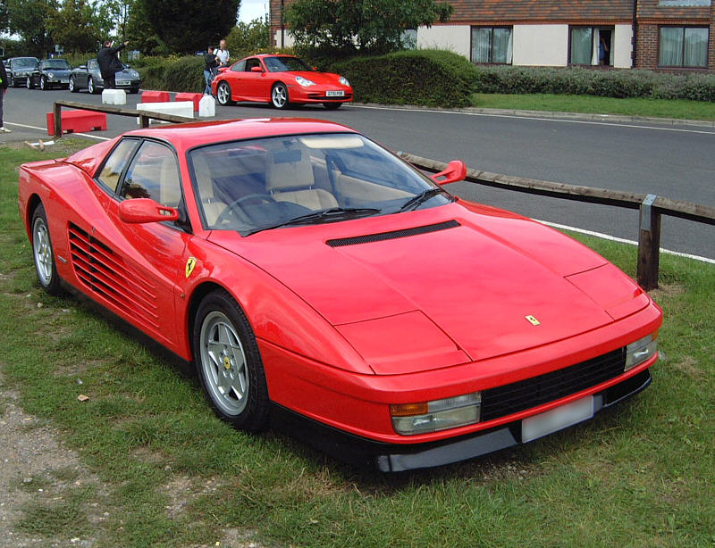 Ferrari Testarossa Review Specs Stats Comparison Rivals