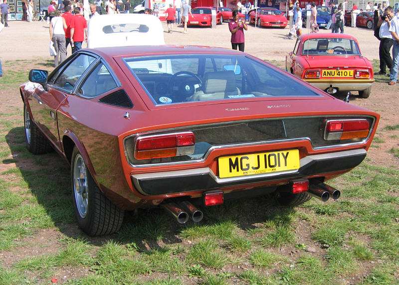 Maserati Khamsin information on SupercarWorld.com