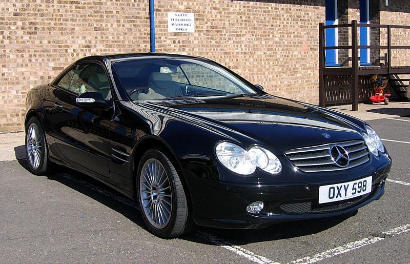 2002 mercedes sl55 amg auto express for Mercedes benz sl55 amg specs