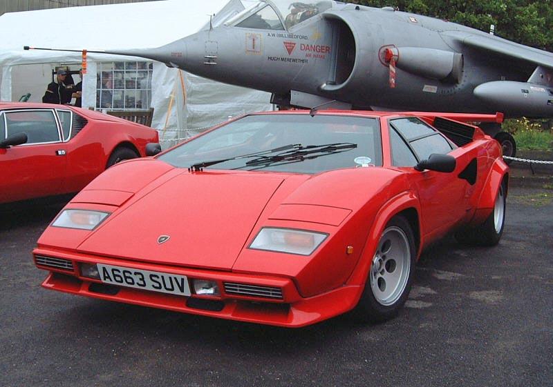 1982 Lamborghini Countach Lp500s Related Infomation