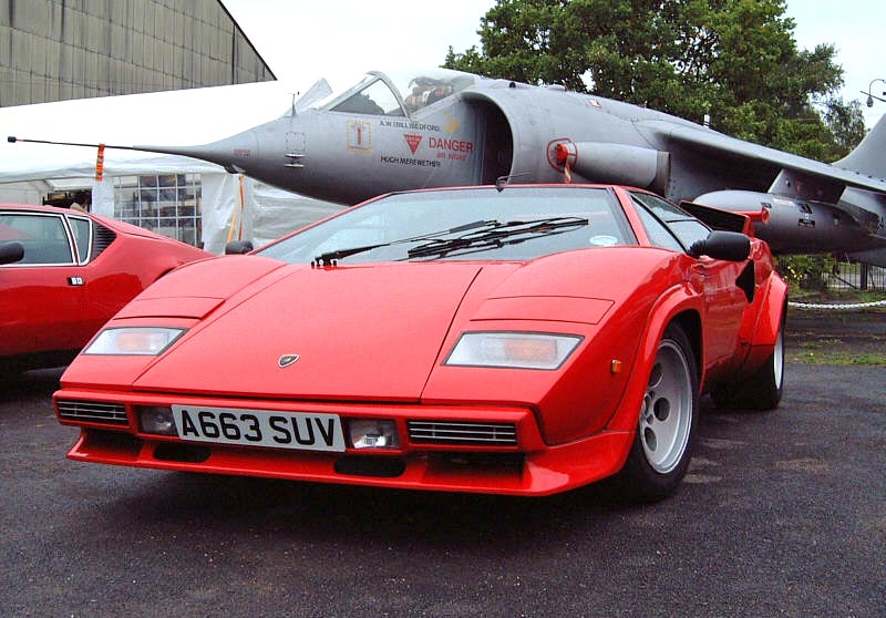 Lamborghini Countach LP500S information on SupercarWorld.com