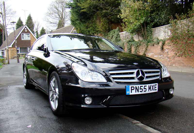 2008 cls55 amg