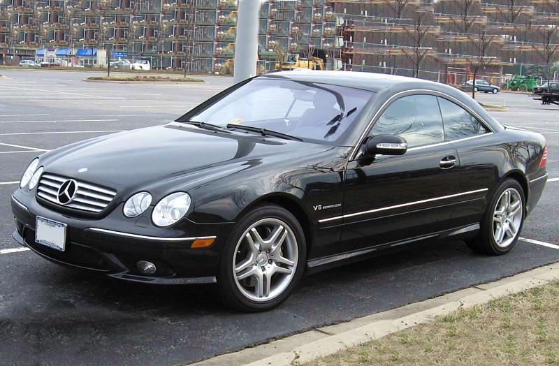 Mercedes Cl55k Amg