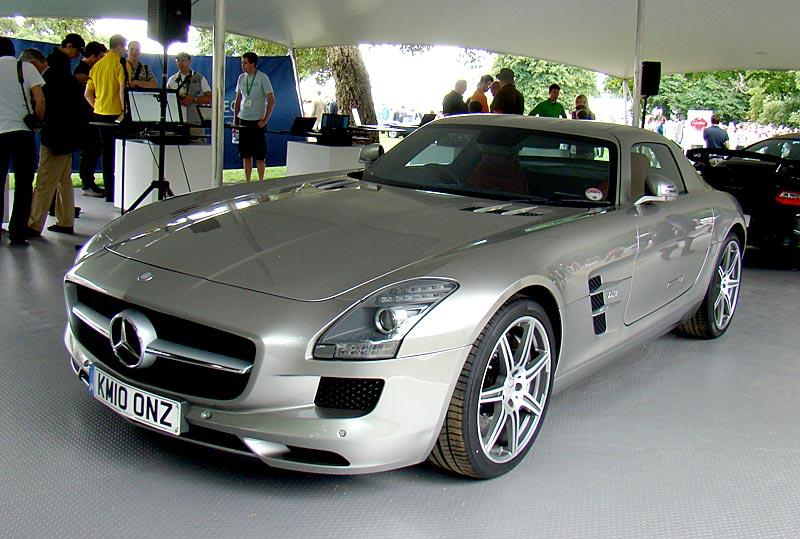 Mercedes sls specs